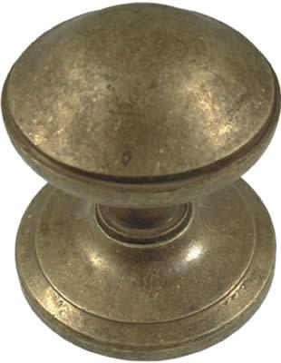 Deurknop Brons Antiek.Deurknop Brons Antiek O 72mm 25 0408 45 De Vliegende